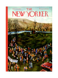 The New Yorker Cover - November 23, 1940 Regular Giclee Print by Ilonka Karasz