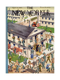 The New Yorker Cover - April 29, 1944 Regular Giclee Print by Tibor Gergely