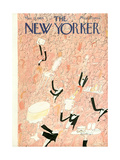 The New Yorker Cover - March 25, 1944 Giclee Print by Ludwig Bemelmans