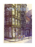 The New Yorker Cover - October 13, 1980 Regular Giclee Print by Arthur Getz