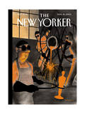 The New Yorker Cover - March 24, 2003 Regular Giclee Print by Ian Falconer