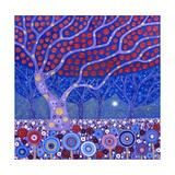 Midnight Garden, 2010 Giclee Print by David Newton