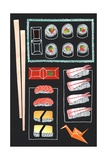 Sushi, 2014 Giclee Print by Isobel Barber