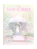 The New Yorker Cover - December 26, 1983 Regular Giclee Print by Jenni Oliver