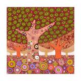 Frogspawn Trees, 2010 Giclée-Druck von David Newton