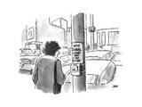 New Yorker Cartoon Premium Giclee Print by John Jonik