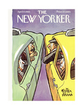 The New Yorker Cover - April 27, 1963 Premium Giclee Print by Peter Arno