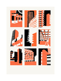Barbican, 2014 Giclee Print by Eliza Southwood