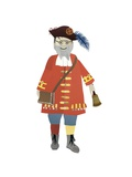 Town Crier, 2014 Giclee Print by Isobel Barber