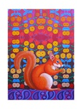 Red Squirrel, 2014 Giclee Print by Jane Tattersfield