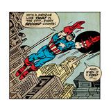 Marvel Comics Retro Style Guide: Captain America Prints