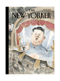 The New Yorker Cover - February 16, 2015 Regular Giclee Print by Barry Blitt