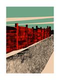 Jarrah Wall, 2014 Giclee Print by Eliza Southwood