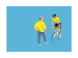 Indurain, 2014 Giclee Print by Eliza Southwood