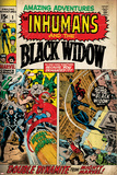Marvel Comics Retro Style Guide: Black Widow Poster