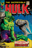 Marvel Comics Retro Style Guide: Hulk, Rhino Poster