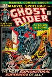Marvel Comics Retro Style Guide: Ghost Rider Plakater