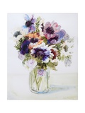 Anemones in a Glass Jug, 2000 Giclee Print by Joan Thewsey
