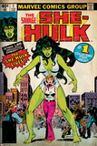 Marvel Comics Retro Style Guide: She-Hulk Prints