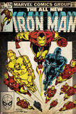 Marvel Comics Retro Style Guide: Iron Man Poster