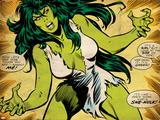 Marvel Comics Retro Style Guide: She-Hulk Plakát