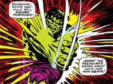 Marvel Comics Retro Style Guide: Hulk Poster