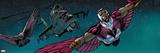 Avengers Assemble - 2014 Color Panel Art Print