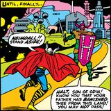 Marvel Comics Retro Style Guide: Thor Print