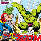 Marvel Comics Retro Style Guide: Hulk Posters