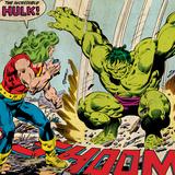 Marvel Comics Retro Style Guide: Hulk Print
