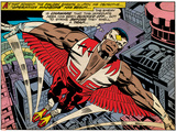 Marvel Comics Retro Style Guide: Falcon Print