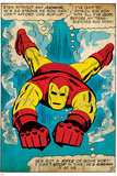 Marvel Comics Retro Style Guide: Iron Man Prints