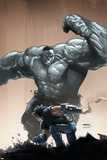 Age of Apocalypse No. 4: Hulk, Wolverine Print