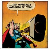 Marvel Comics Retro Style Guide: Thor Photographie