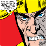 Marvel Comics Loki - Panel Art Posters