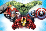 Avengers Assemble - Situational Art Kunstdruck