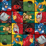 Avengers Assemble - Villain Patterns 2014 Prints