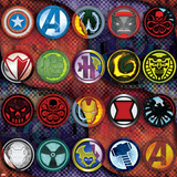 Avengers Assemble - Villain Patterns 2014 Posters