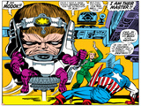 Marvel Comics M.O.D.O.K - Panel Art Prints