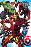 Avengers Assemble - Situational Art Poster