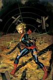 Captain Marvel No. 4: Captain Marvel Poster