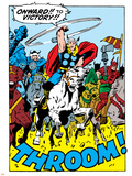 Comics - Thor Artwork - Panel Art Prints