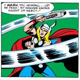 Comics - Thor Artwork - Panel Art Photo