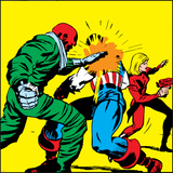 Marvel Comics Red Skull - Panel Art Prints
