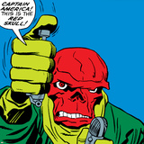 Marvel Comics Red Skull - Panel Art Posters