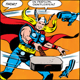 Comics - Thor Artwork - Panel Art Print
