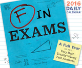 F in Exams - 2016 Daily Boxed Calendar Calendars