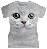 Women's: Green Eyes Face T-shirts