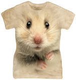 Juniors: Hamster Face T-Shirt
