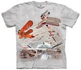 Boeing Av. Hanger T-skjorte